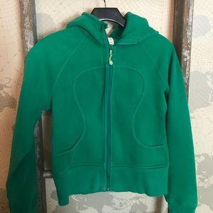 Lululemon Scuba hoodie size 6 GUC